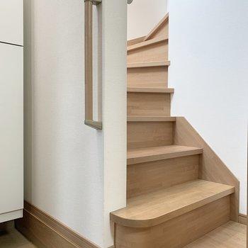 滑らかな階段です。