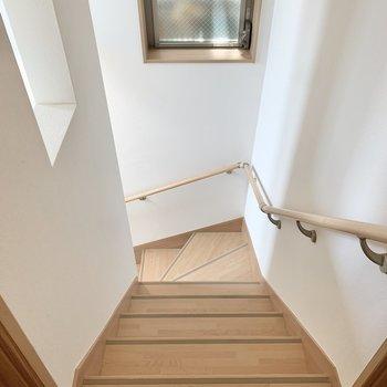 下の階へ降りてみましょう。