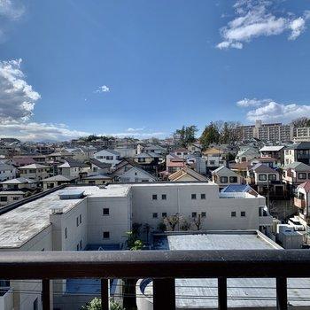 【Balcony】街並みを見渡せます。