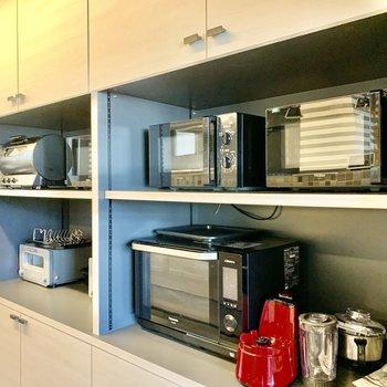 【Kitchen】評判のトースターから、グリル&スモークまで、キッチン家電もこだわり尽くし。