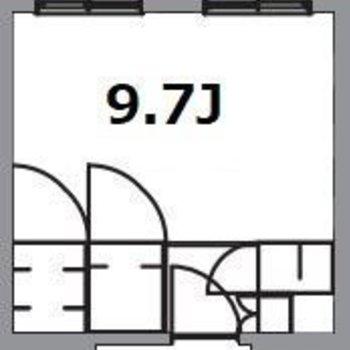 個室は9.7帖の個室です!