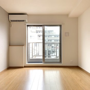 新築に一番乗りで。※写真は3階の同間取り別部屋のものです