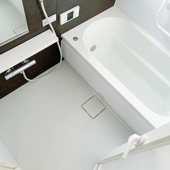 お風呂、とっても綺麗!お風呂時間が楽しみだな〜。
