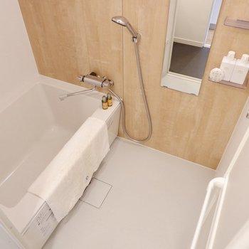 浴室はゆったりサイズです。※写真は前回募集時のもの