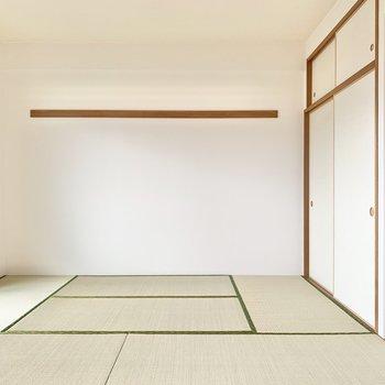 【和室】落ち着きのある空間です。