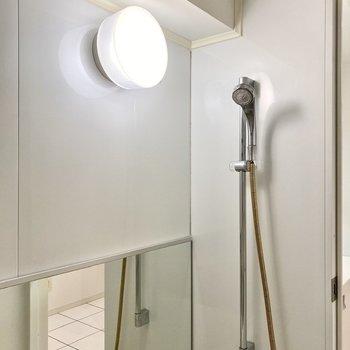 シャワーヘッドはこちらにあります。