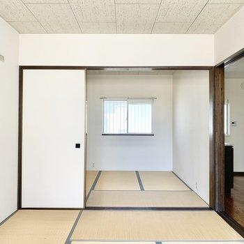 【和室約6帖】奥にも和室があります。