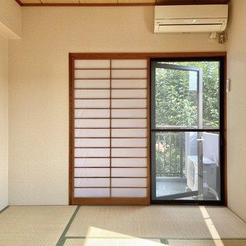 【和室】畳を見ると、夏!って感じがします。