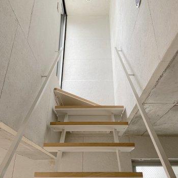 階段を登ってみると……