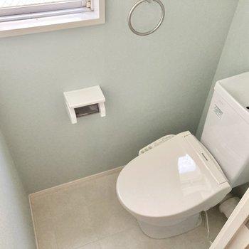 トイレはウォシュレットつきです。