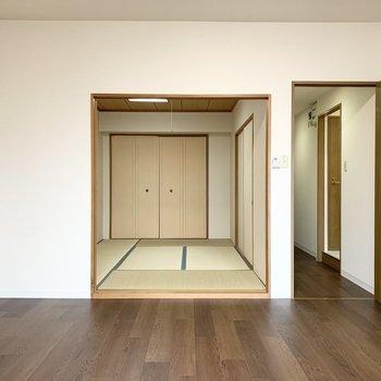 和室と廊下が続きます。