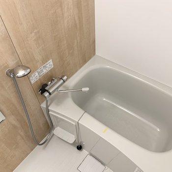 浴槽も新品交換済み