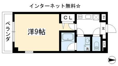 Isマンション の間取り