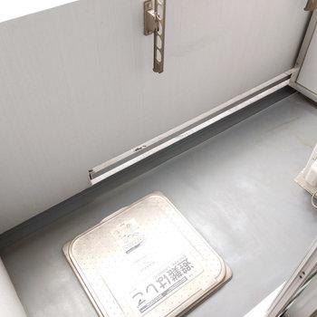 ややコンパクトですが洗濯物を干すには十分なスペースです。※写真は前回募集時のもの