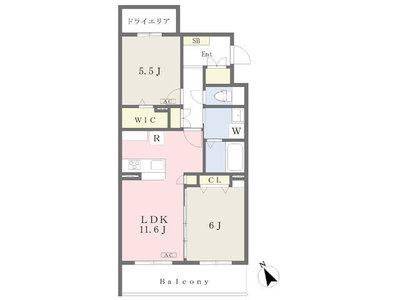 梶ヶ谷5丁目マンションⅡ新築計画 の間取り