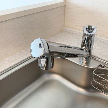 【LDK】水道は浄水器付きです。