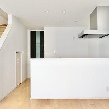 開放的な対面式キッチンが素敵なんです◎