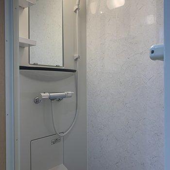 シャワーブースもとってもきれい!