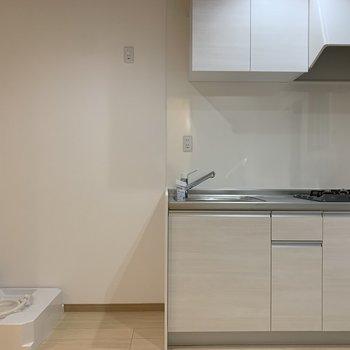 キッチンのサイズもひとり暮らしには十分!