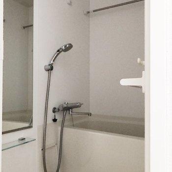 浴室乾燥機付きで雨の日も安心