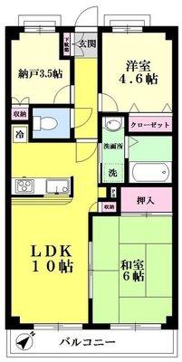 Excel OIZUMI ~エクセル大泉 の間取り