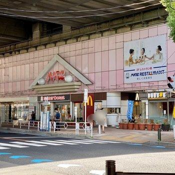 そのほかショッピングを楽しめる施設がありますよ。