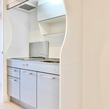 冷蔵庫スペースは確保されてます。