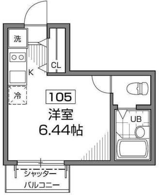 バウムハウス新高円寺 の間取り