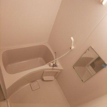 洗い場もしっかり確保!※写真は3階の同間取り別部屋のものです