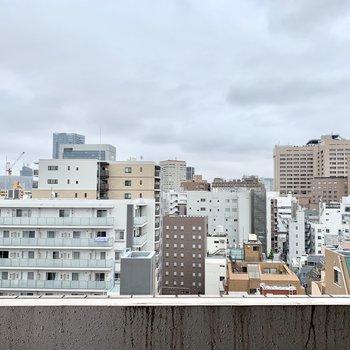 さすが10階、眺望は抜けています。