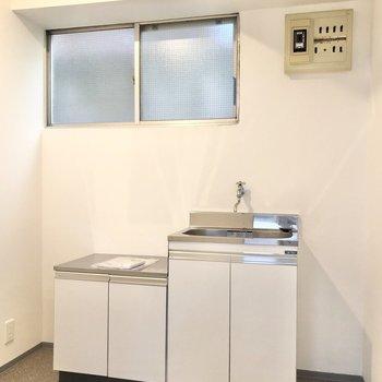 こちらは給湯室になっています。