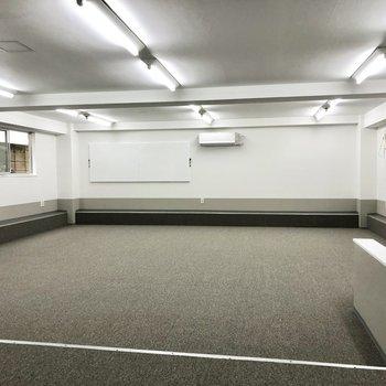 開放的なオフィスは様々な用途に対応できます。