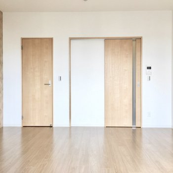家具の配置もしやすい間取り。 (※写真は5階の同間取り別部屋のものです)