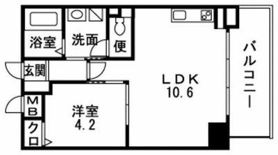 Casa Hakata-East の間取り