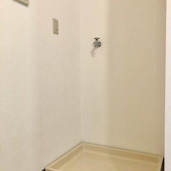 洗濯機置場も室内にあります◎