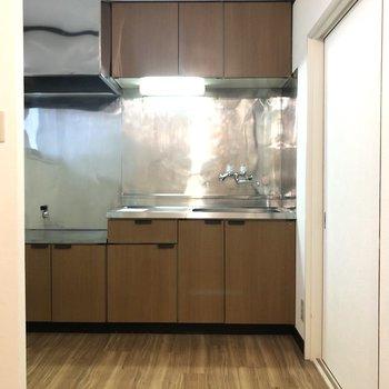 広いキッチンです。