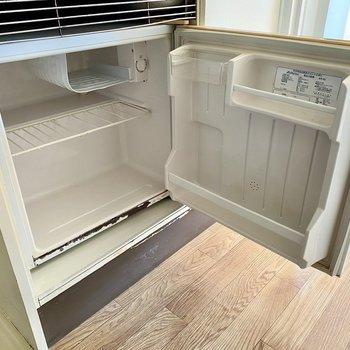 冷蔵庫がついているので、初期費用を抑えられるんです。