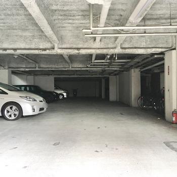 車も同スペースに駐車可能です。