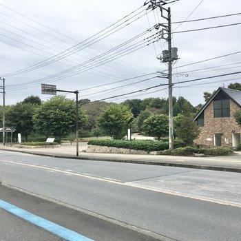 お部屋の近くに【神奈川県立座間谷戸山公園】があります。お散歩コースにいかがでしょうか。