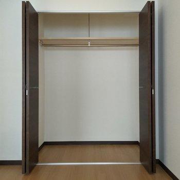 [間取り図LD左の洋室]大容量なクローゼット◎