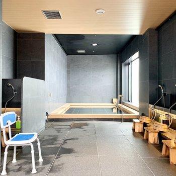 【大浴場】お待ちかねの大浴場です。