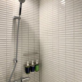 客室内にはシャワーブースのみです。