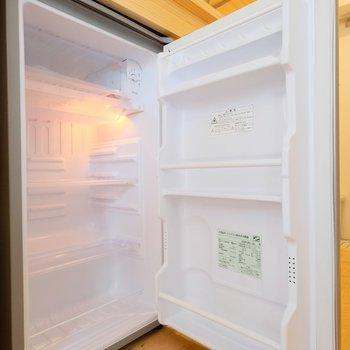冷蔵庫も完備してます