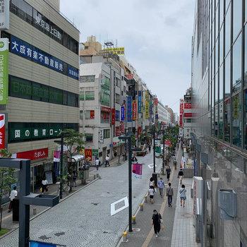 商店街もあり、お店が豊富で暮らしやすい印象。