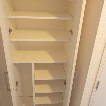 たくさんの靴が収納出来そうです※写真は6階の同間取り別部屋のものです