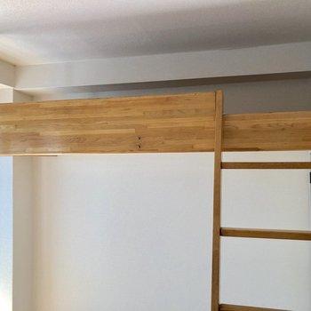 ロフトに上ってみましょう※写真は3階の同間取り別部屋のものです