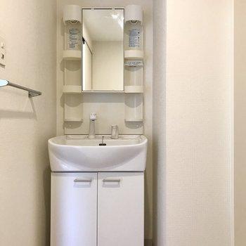 洗面台もありますよ!