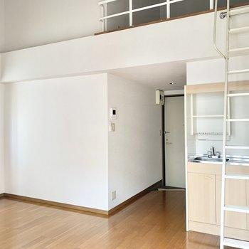 家具も合わせやすそう◎(※写真は13階の同間取り別部屋のもので、一部仕様が異なります)