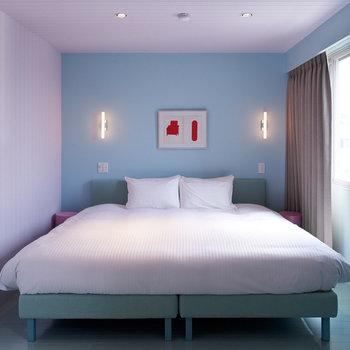 【ホテルステイ】彩色のお部屋