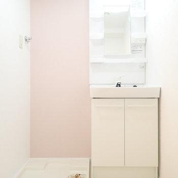 淡いピンクのクロスです!かわいい!